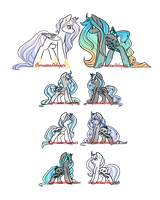 :: MLP Breeding Results CLOSED :: by CorsetteAdopts