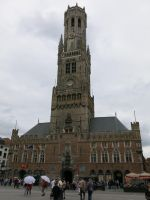 The Belfry of Bruges by kanyiko