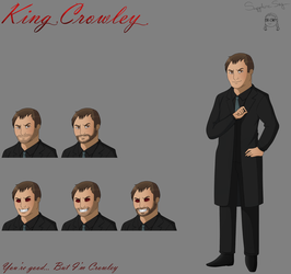 King Crowley concept sheet by SapphireSky1992