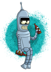 Bender by RaynaOfTheDead