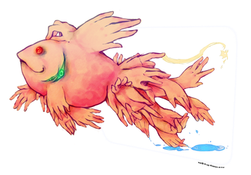 The Goldfish by ink-cap