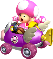 Toadette Cheep Charger by TonyToad22
