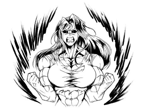 [Fan Art] Jen the Hulk by Minamo21