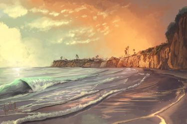 Pacific Beach by chateaugrief