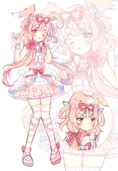 Bunny Lolita Adopt - open (Auction) by bunbby