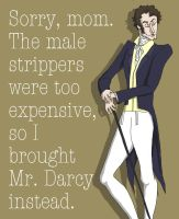 Silly Mr. Darcy by AymsterSilver