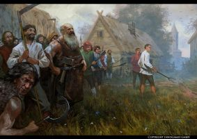 the militia by Andrei-Pervukhin