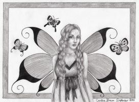 Fairy from dreams II by VioletDolphin