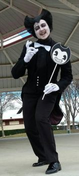 Bendy Cosplay  by MLPAristiscCSketch