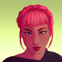 Pink and Green by DSerpente