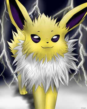 Jolteon by oOSenyaOo