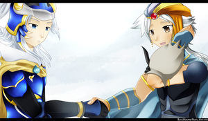 Dissidia - First meeting... by BlacHound