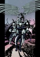 UNCANNY X-FORCE colour by DeclanShalvey