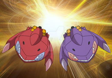 Genesect [Wallpaper] - Extreme Speed by Kiriguardian