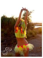 Kandi fairy wing rave outfit by love-on-a-stick