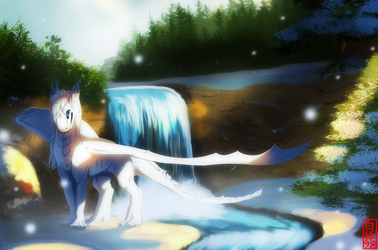 Snow Drift by Arcticfox98