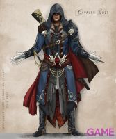AC:GameAus Ezio Costume Design by ArtZombi3