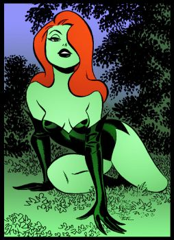 Ivy Come Hither by Bruce Timm by DrDoom1081