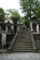 Pere Lachaise stairs II by deadenddoll-stock