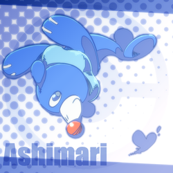 Jumping Popplio by ef74