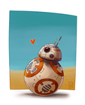 bb-8 star wars by KhiaraDraws