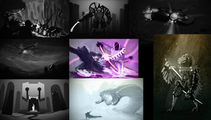 Spitpaint Compilation by HenryBiscuitfist