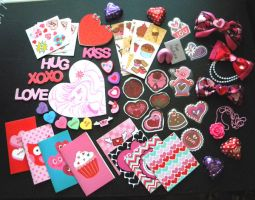 Valentines goodie bag by zambicandy