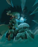 + DOFUS + Finding the Dofus of Ice by VanOxymore