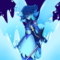 Lapis, The Water Winged angel by Ominous-Artist