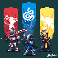 Pixel favourites by ChobiLuck on DeviantArt