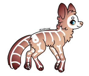 Gacha Result 'Skeletal' by Blithe-Adopts