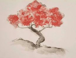 Blossom Tree  by paperchain-art