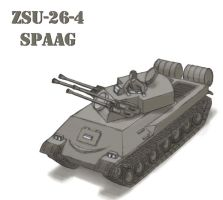 ZSU-26-4 by cthelmax