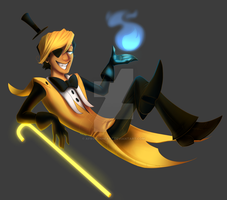 Bill Cipher AT by AFrozenHeart