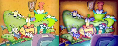 Rocko's Modern Life Repainted by SuperBlade9000