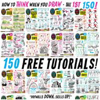 Links to EVERY ONE of my 150 FREE TUTORIALS! by STUDIOBLINKTWICE