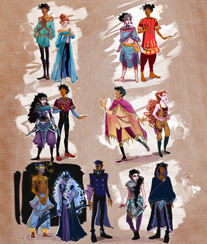 Noname and Aster designs by Bofable
