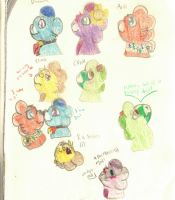 Traditional Wyngro Doodles by Lionblaze03