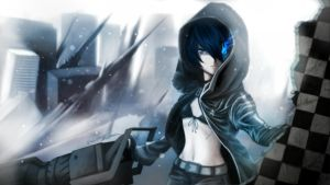 Black Rock Shooter - Long for bliss by FixelCat