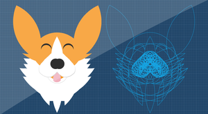 Corgi Designed Using The Golden Ratio by michaelsboost