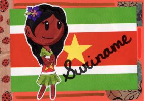 SatW OC - Sister Suriname by flylittlecat