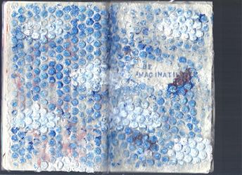 Sketchbook Project Page 24+25 by hannahakaskatergirl