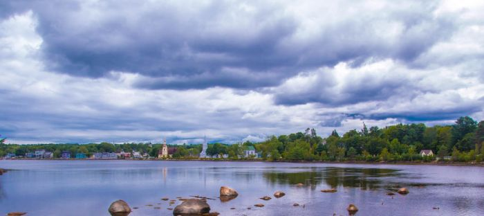 Mahone Bay N.S by freddiecruger