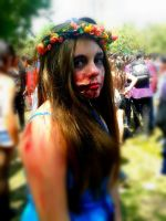Zombie Makeup by Yukyh