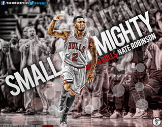Nate Robinson Wallpaper (Small, But Mighty!) by PavanPGraphics