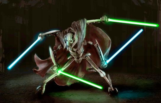 Grievous Star Wars by Jmc117