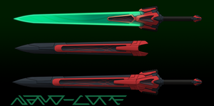 Scifi Sword Auction Adopt (closed) by Nano-Core