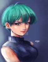 Bulma in 40 min by Mark-Clark-II