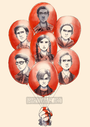 [IT Zine - The Losers Club] by Martina-G