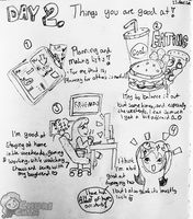 Day 2. What are you good at?! by Churichan